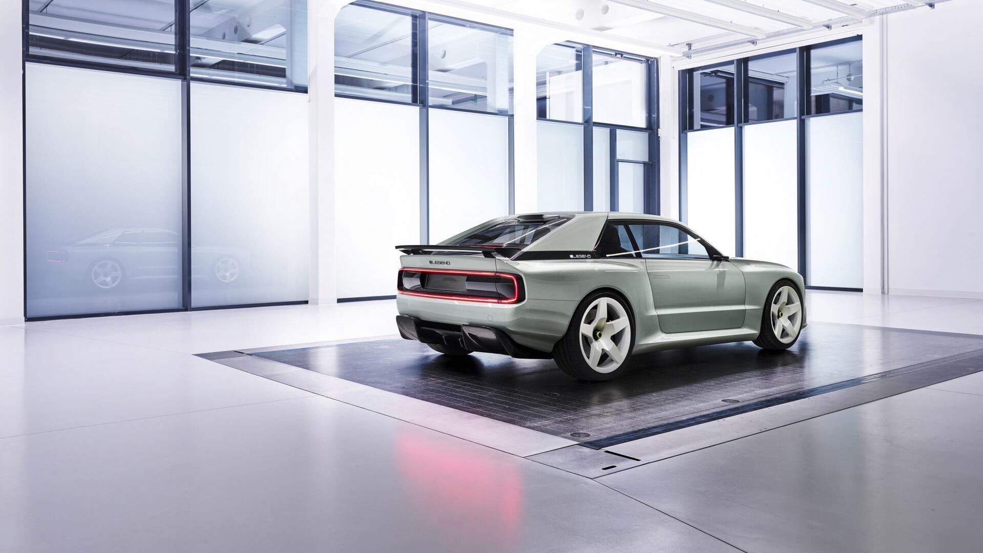 В Мюнхене продемонстрировали электрокар E-Legend EL1 в стиле Audi Quattro