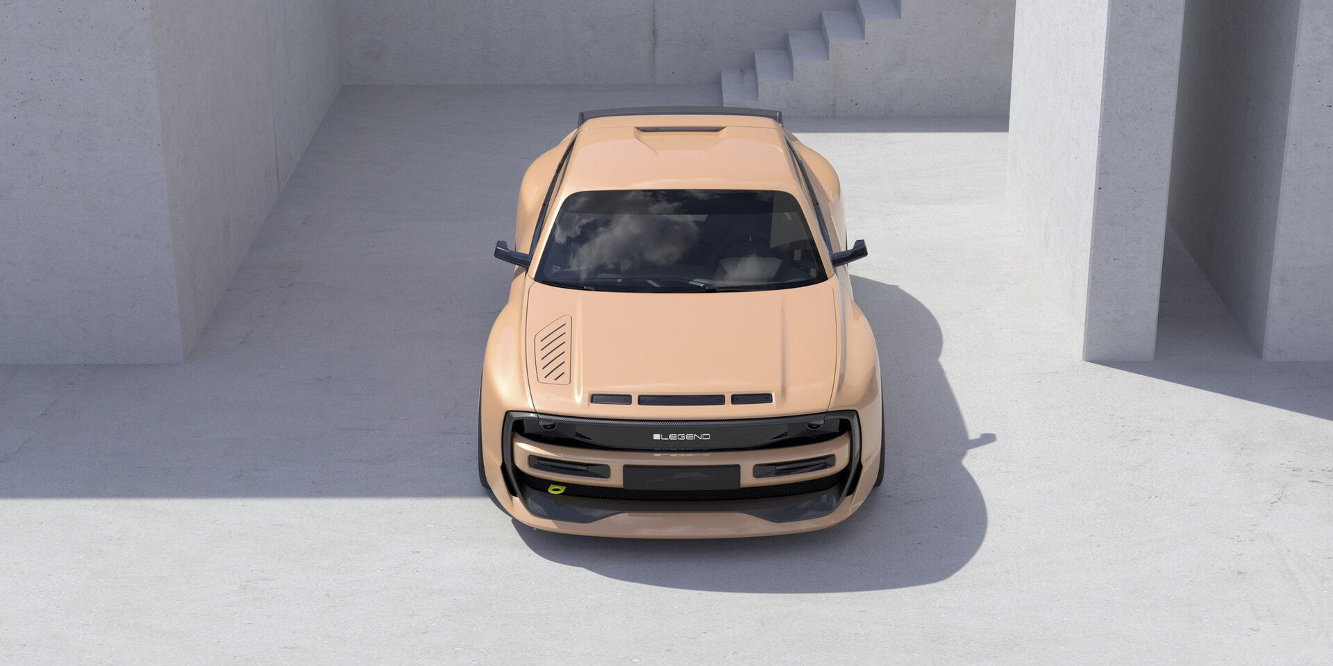 Эксклюзивный электромобиль E-Legend EL1