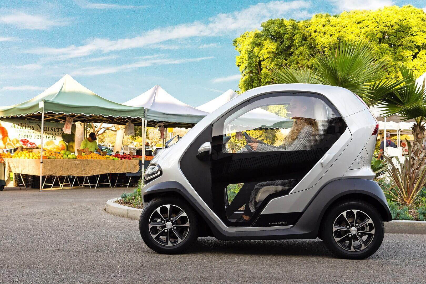 Мини-электромобиль Eli ZERO выходит на рынок в ЕС