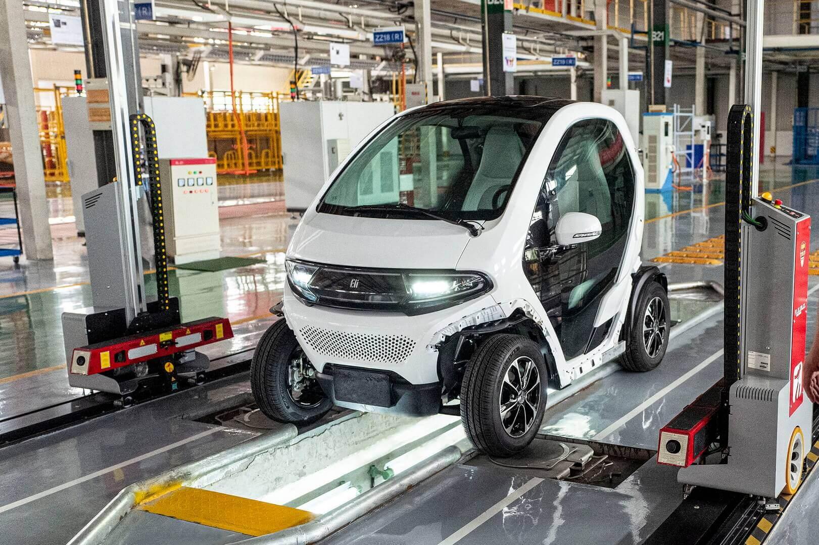 Eli Electric Vehicles запускает производство компактного электромобиля ZERO