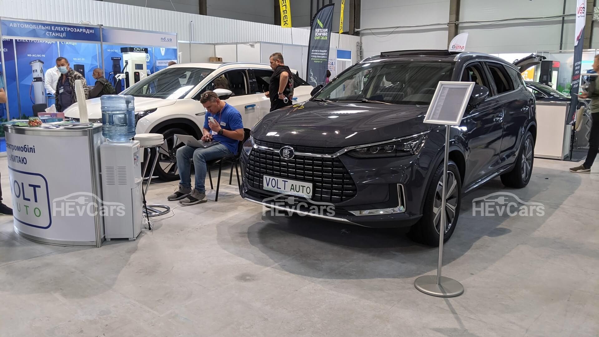 Дилер новых электромобилей изКитая VOLTauto на выставке Plug-In Ukraine 2021