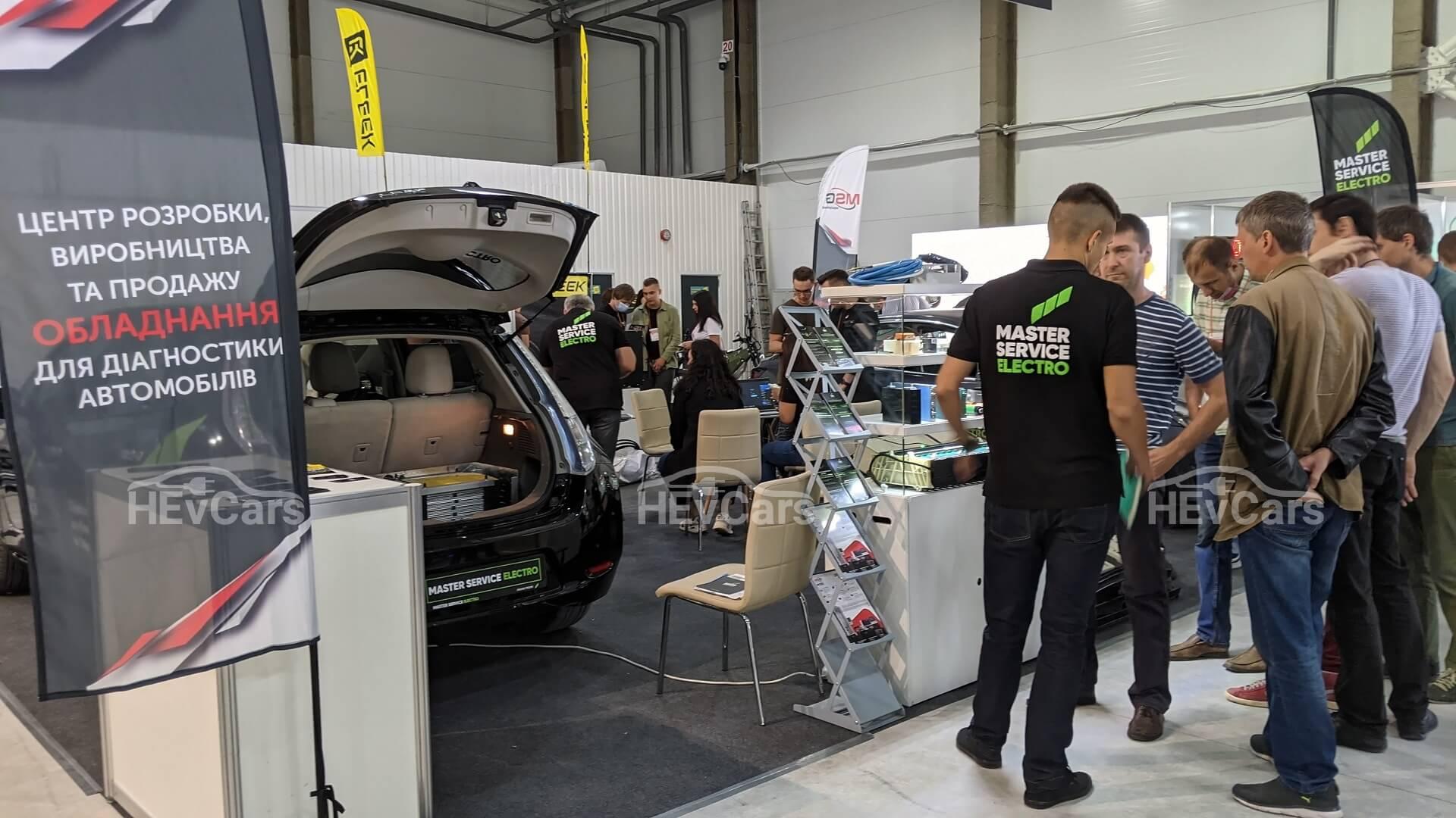 Компания Master Service Electro показала на выставке свои вариации модернизации батарей электромобилей