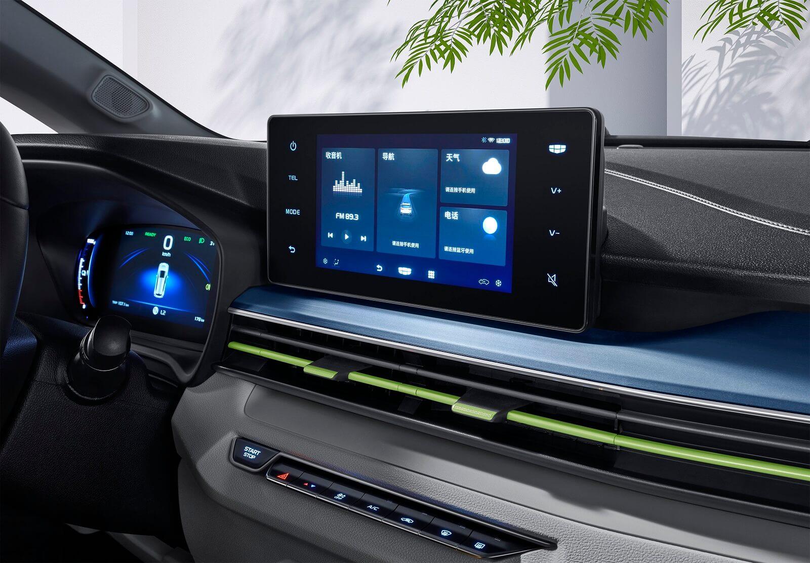 10,25-дюймовый ЖК-экран приборов и 8-дюймовый центральный дисплей