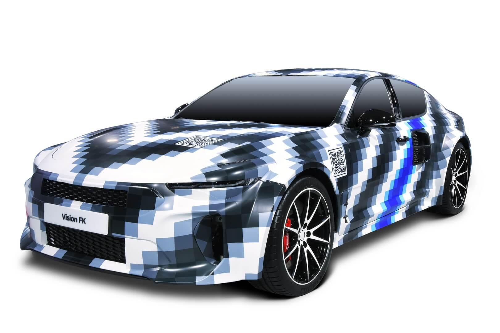 Hyundai представила спорткар на топливных элементах мощностью 500 кВт