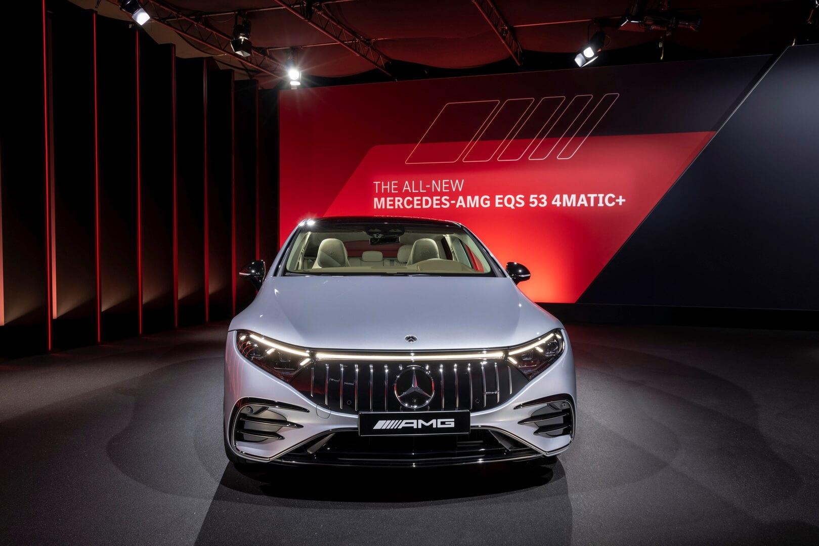 Представлен Mercedes-AMG EQS: первый электромобиль AMG мощностью 751 л.с.