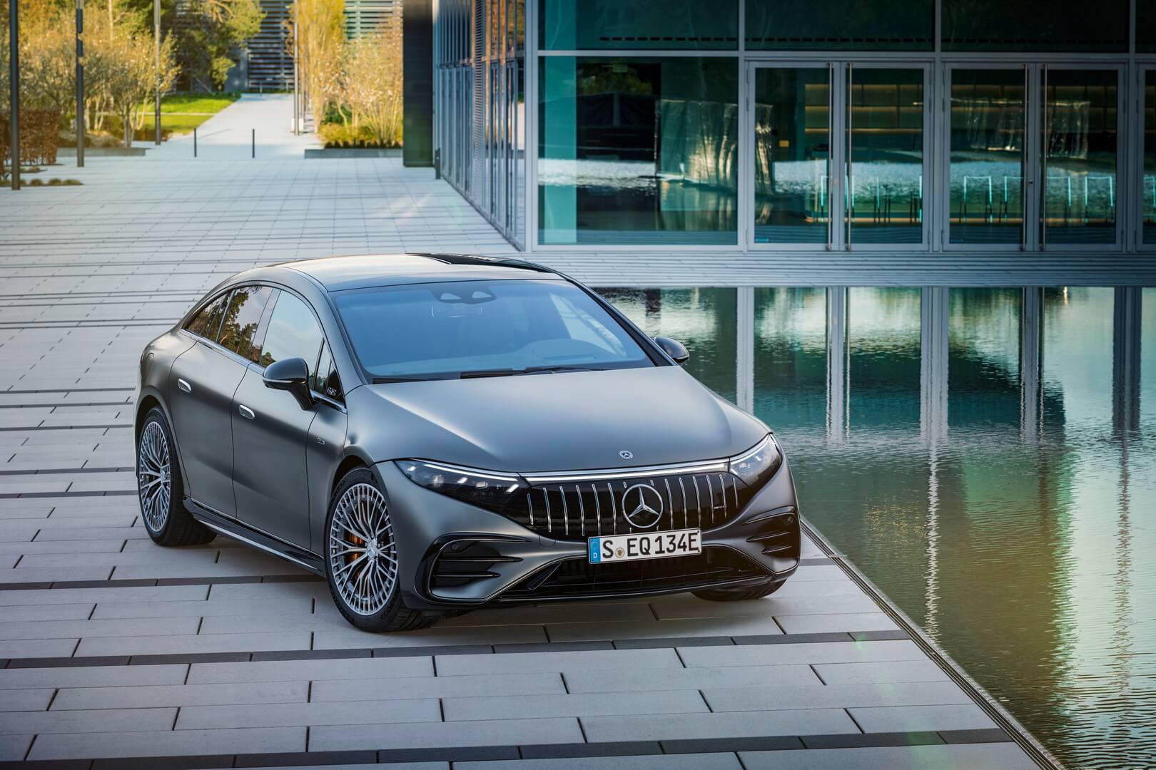 Mercedes-AMG EQS открывает новую эру для AMG