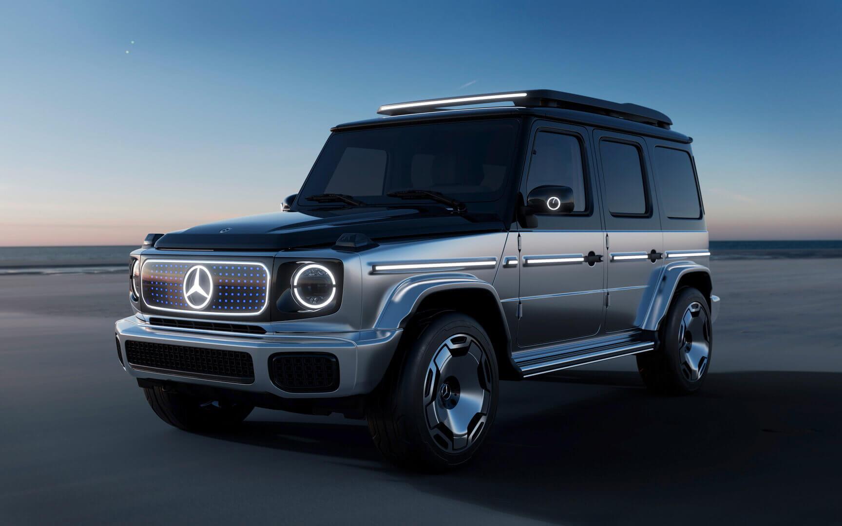 Электрический внедорожник Mercedes-Benz Concept EQG