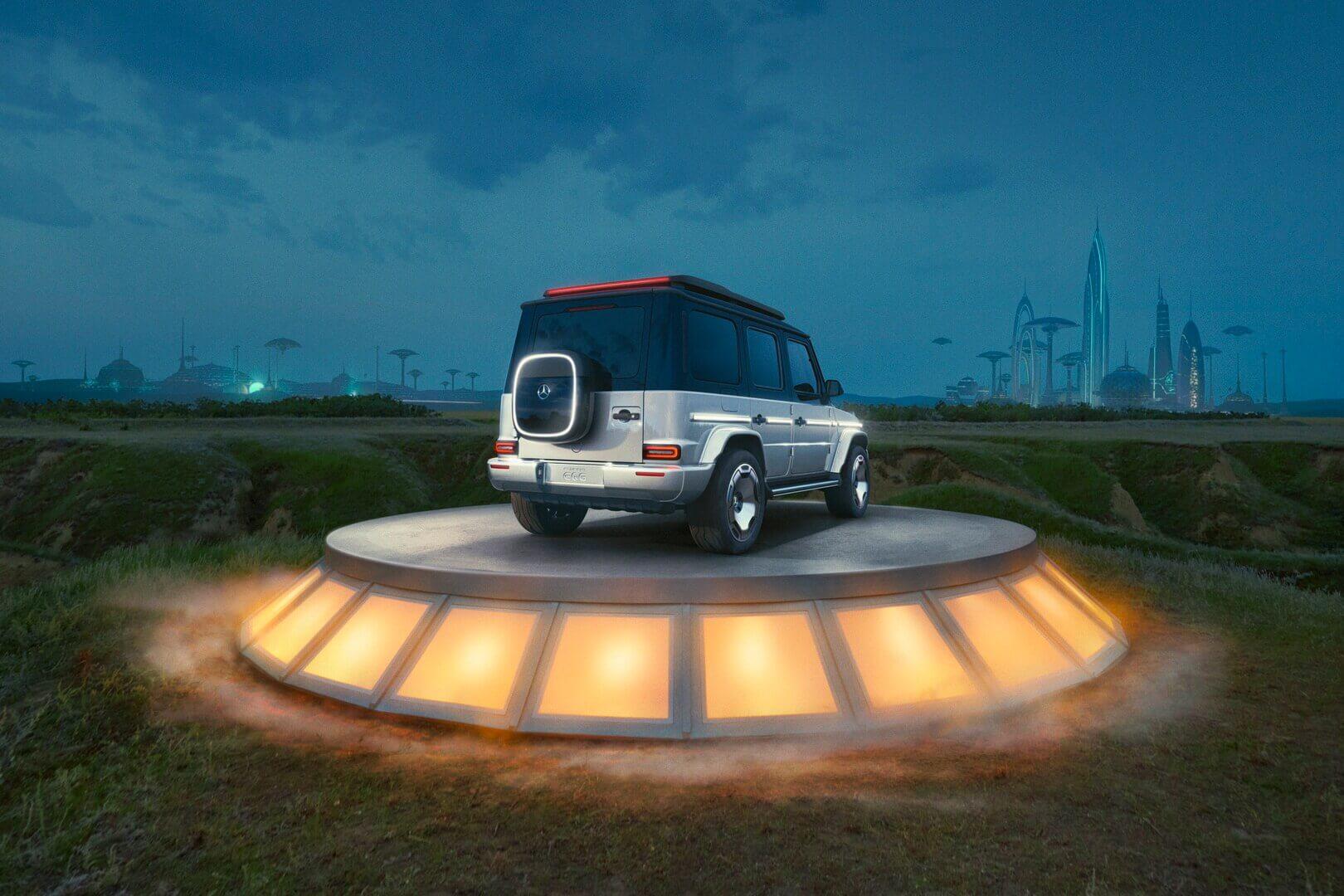 Электрический концепт Mercedes-Benz EQG— переосмысленная автомобильная икона