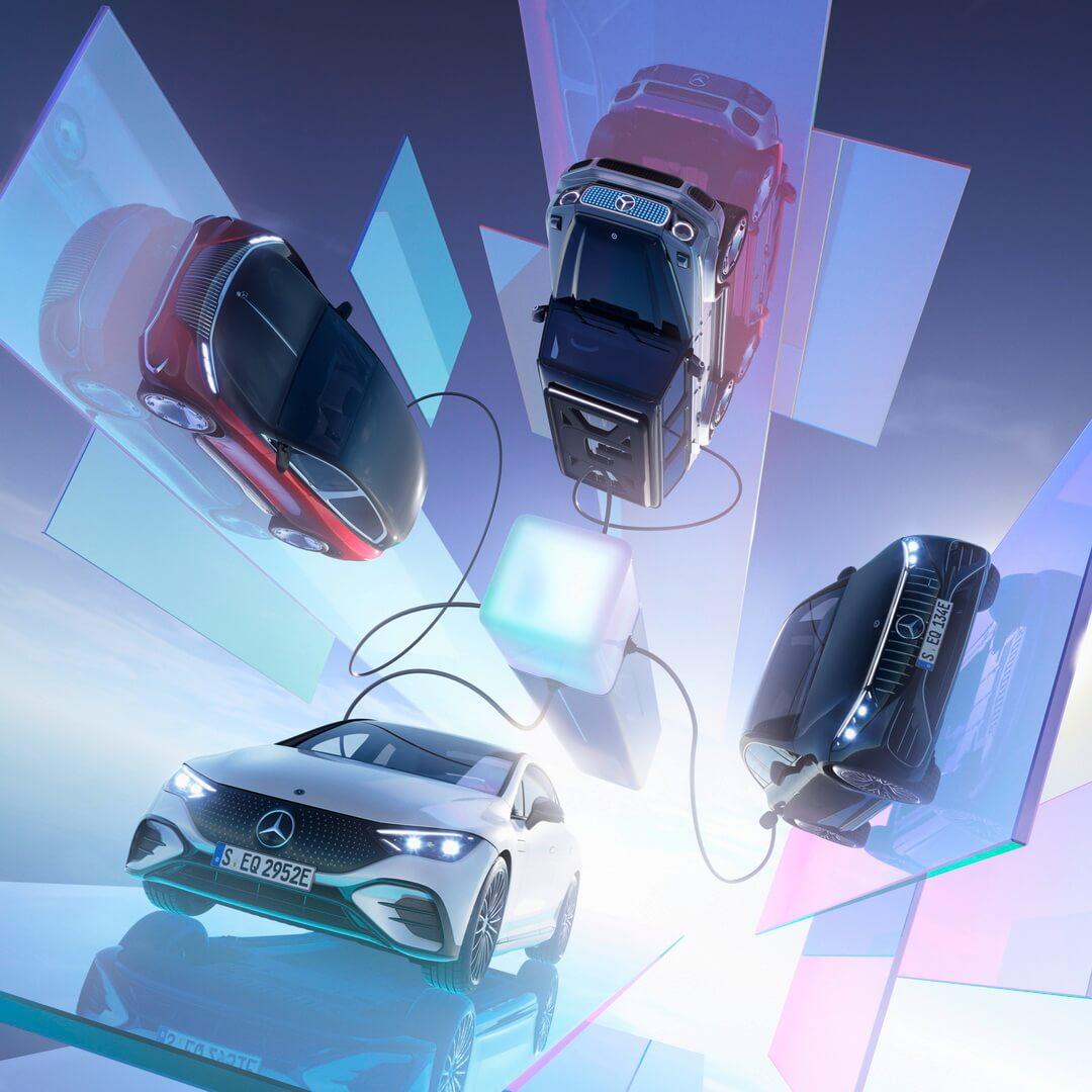 Mercedes-Benz представил роскошные электрические модели для дорог и бездорожья