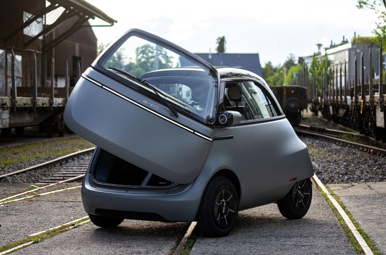 Серийный вариант крошечного ситикара Microlino 2.0, по образу BMW Isetta