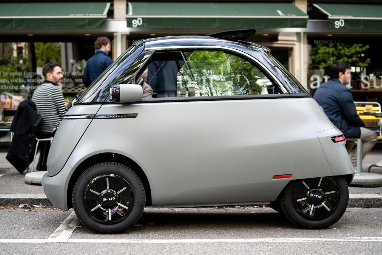 Электрический сити-кар Microlino 2.0