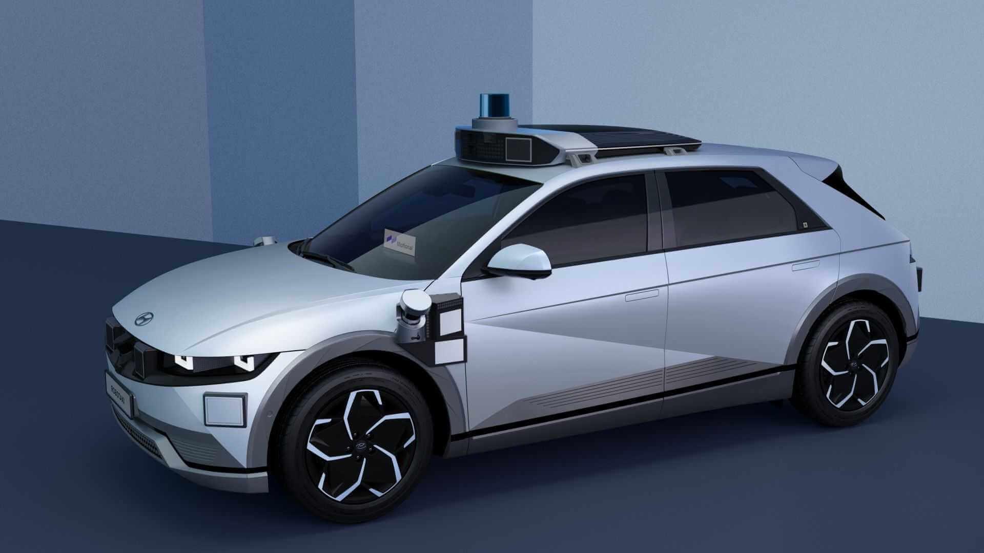 Роботакси Hyundai IONIQ 5