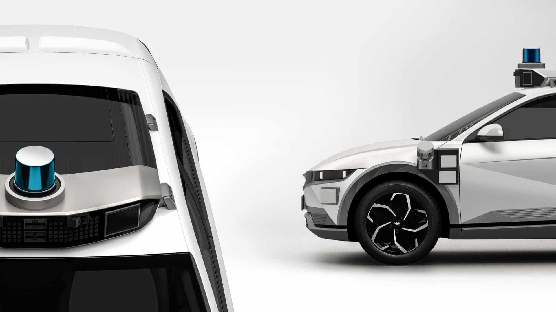 Hyundai и Motional представляют роботакси IONIQ 5