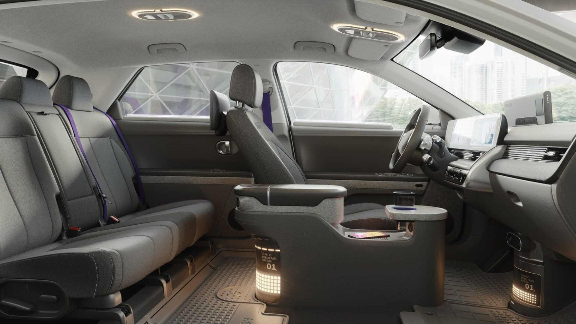 Ожидается, что роботакси IONIQ 5 приступит к перевозке пассажиров в 2023 году
