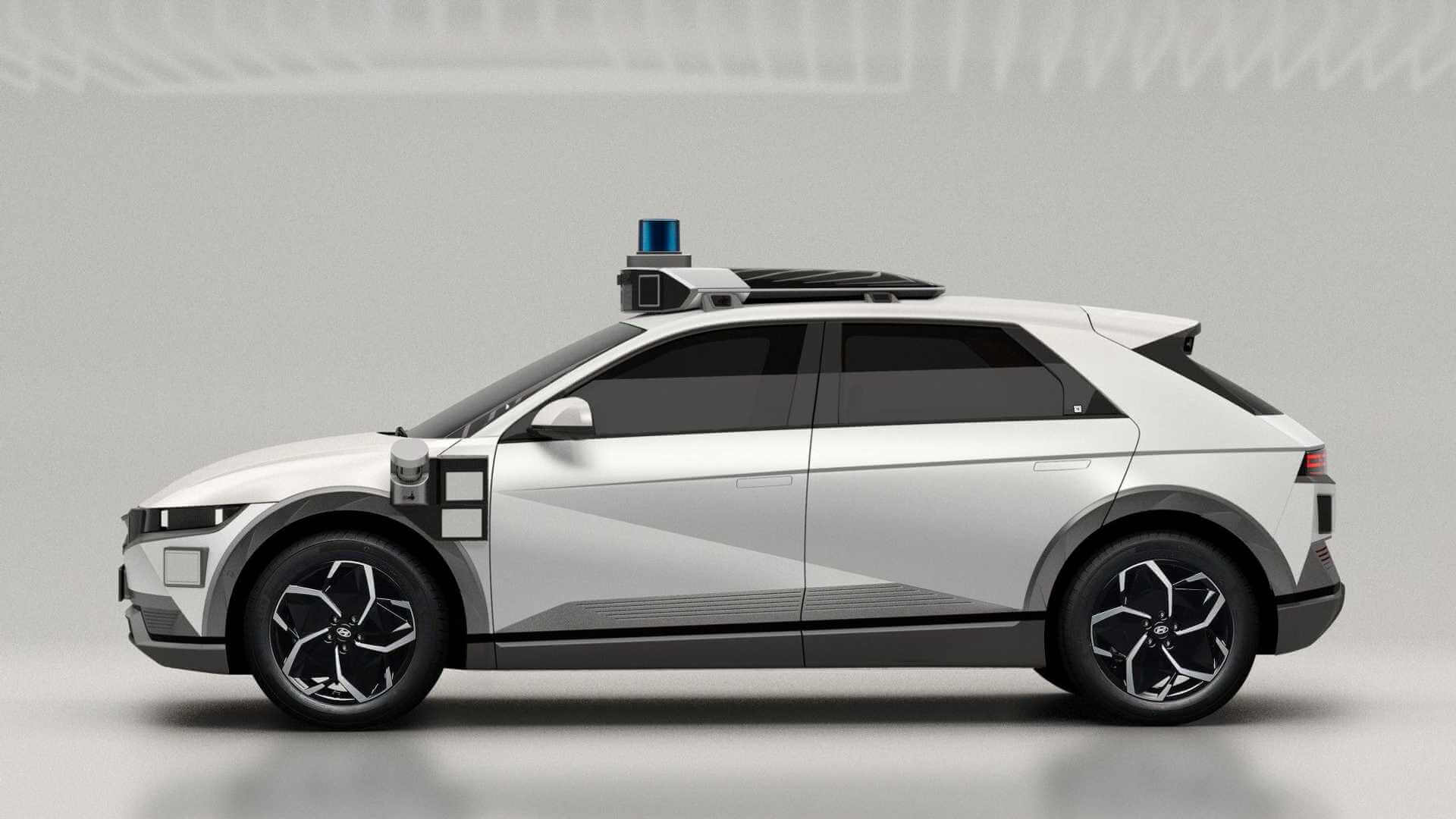 Hyundai IONIQ 5 превращается в роботакси для Motional