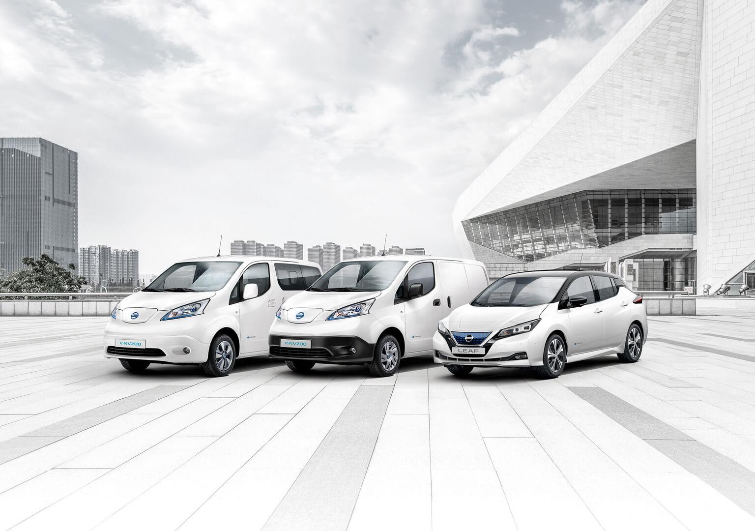 Продажи электромобилей Nissan в Европе достигли 250 000 единиц