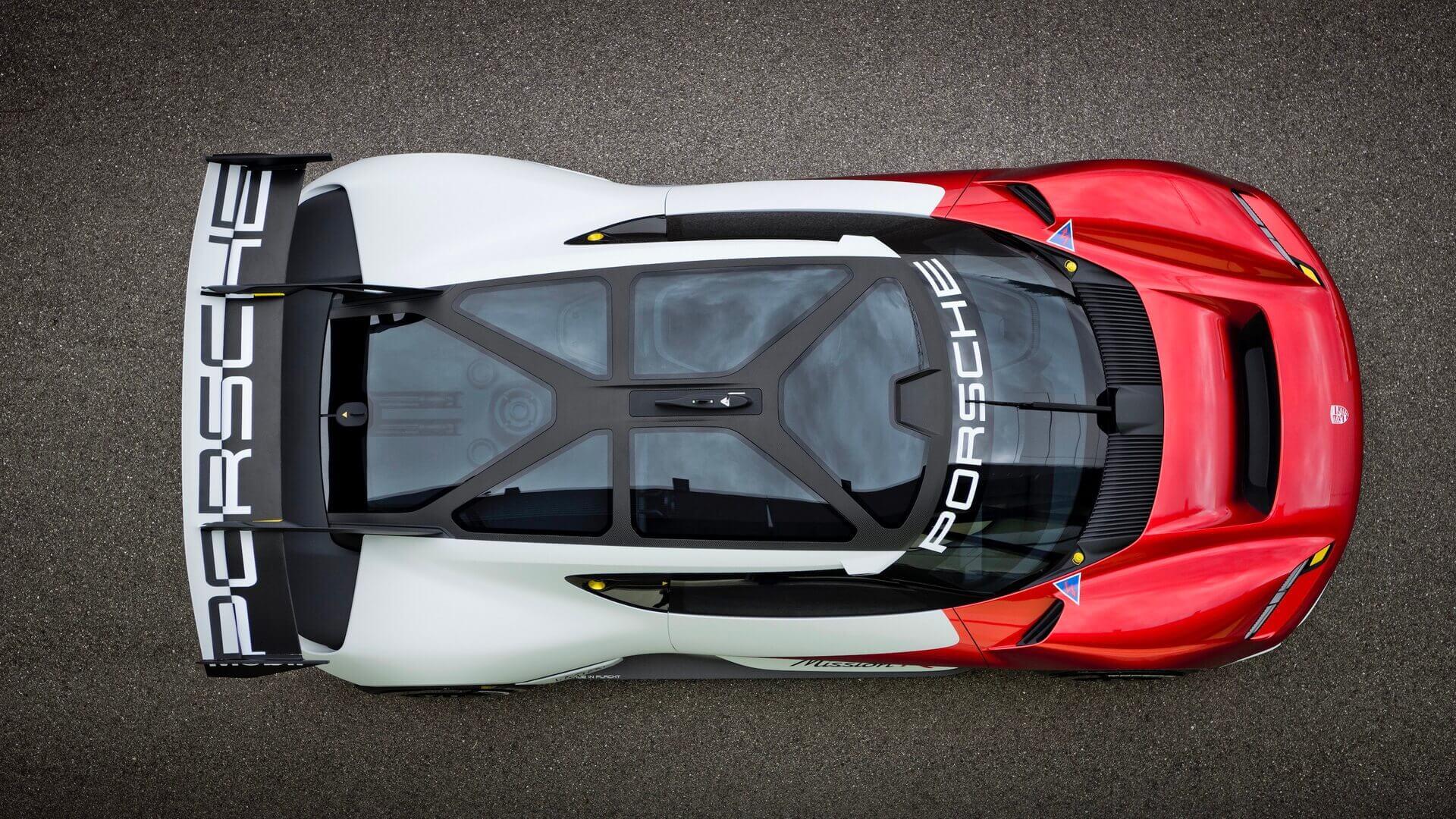 Концепция Porsche Mission Rпредлагает заглянуть вбудущее полностью электрического автоспорта