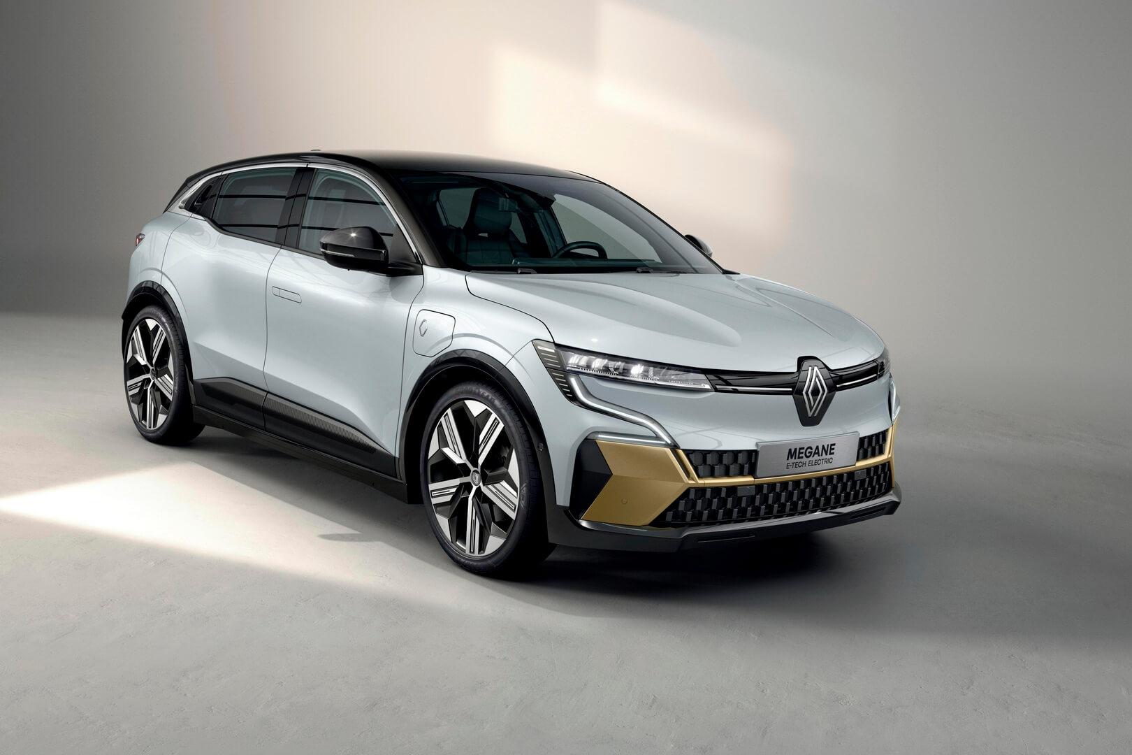 Renault представляет новый полностью электрический Megane