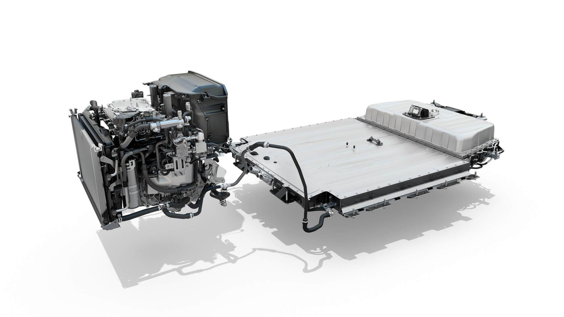 Силовая установка Renault Megane E-Tech Electric