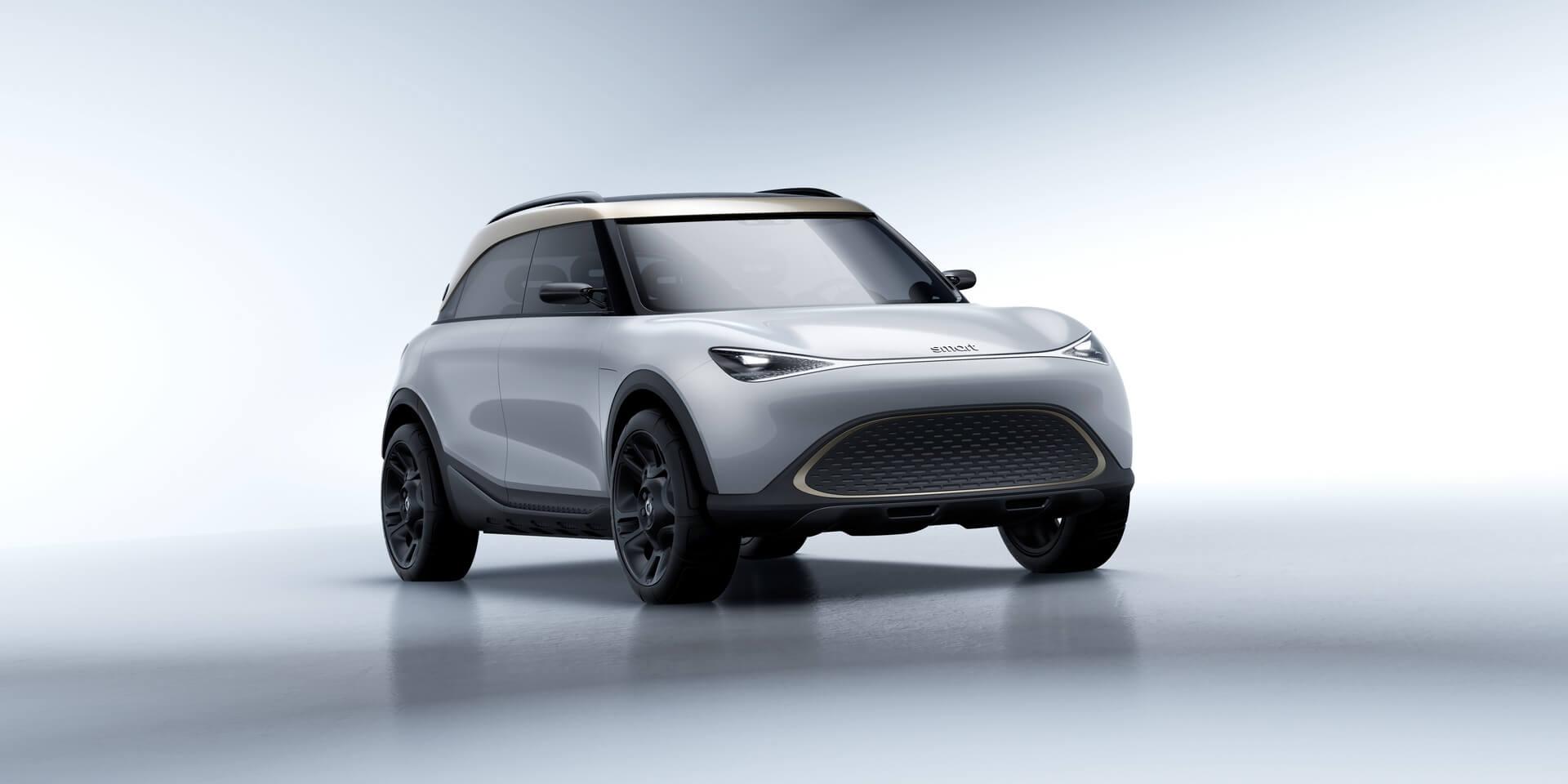 Smart Concept №1 ознаменовал начало радикального переосмысления городских автомобилей бренда
