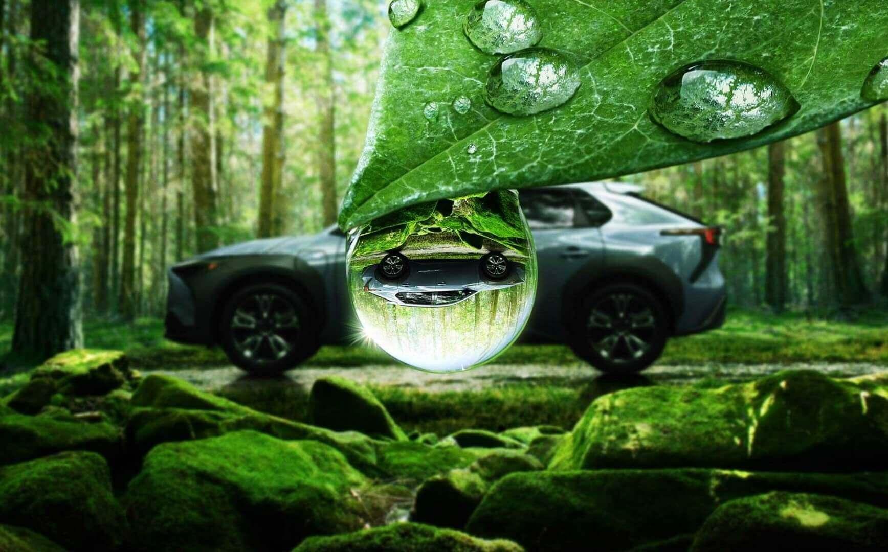 Первый полностью электрический внедорожник Subaru