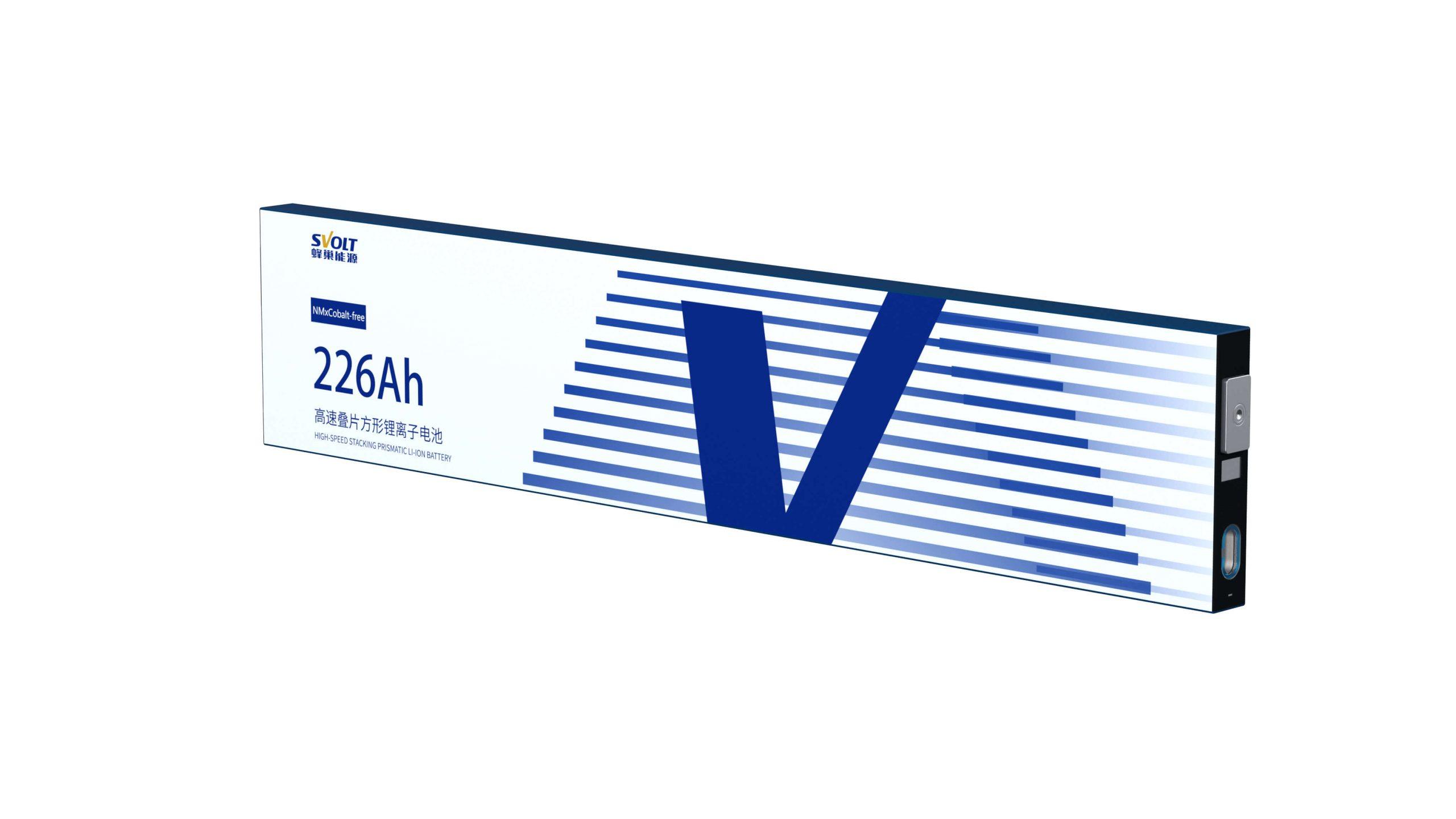 Призматический аккумуляторный элемент NMx от SVOLT на 226 А⋅ч