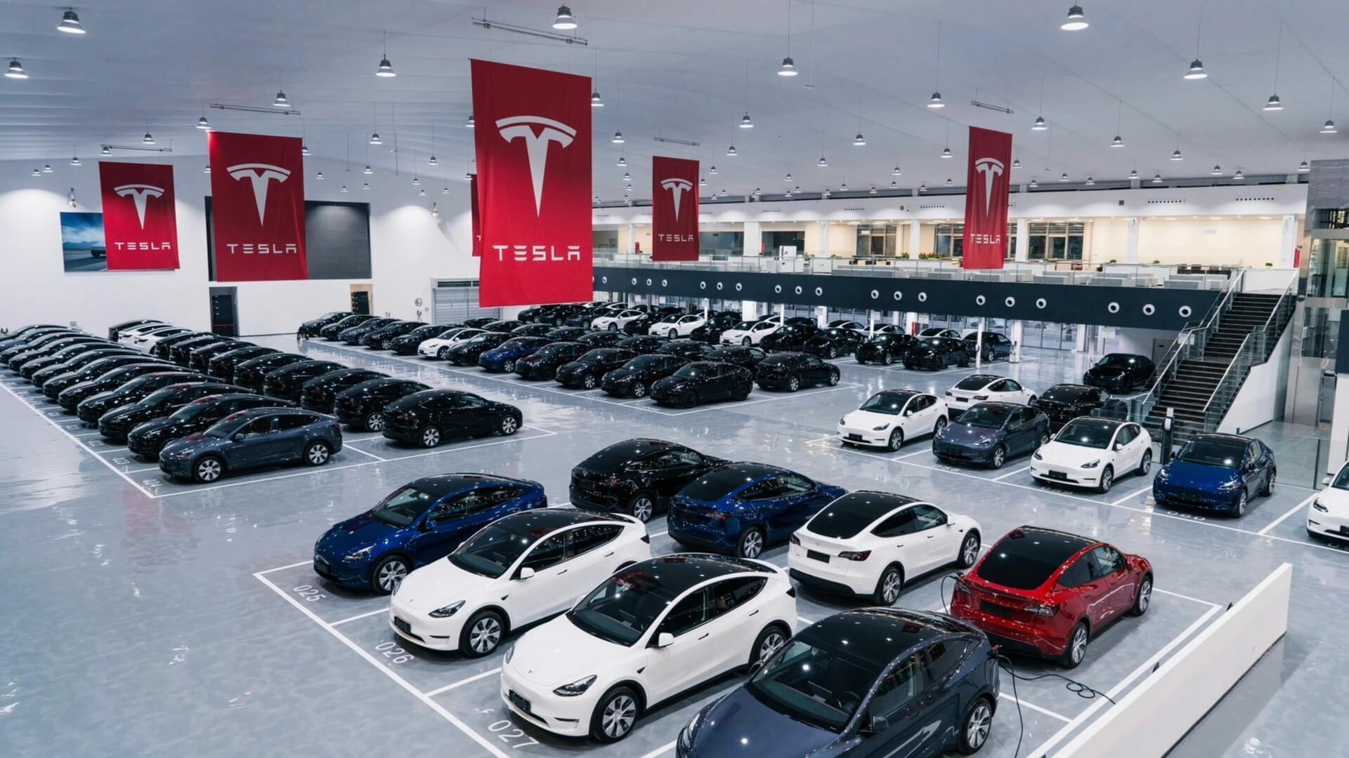 ВПекине открылся крупнейший вАзии центр доставки Tesla