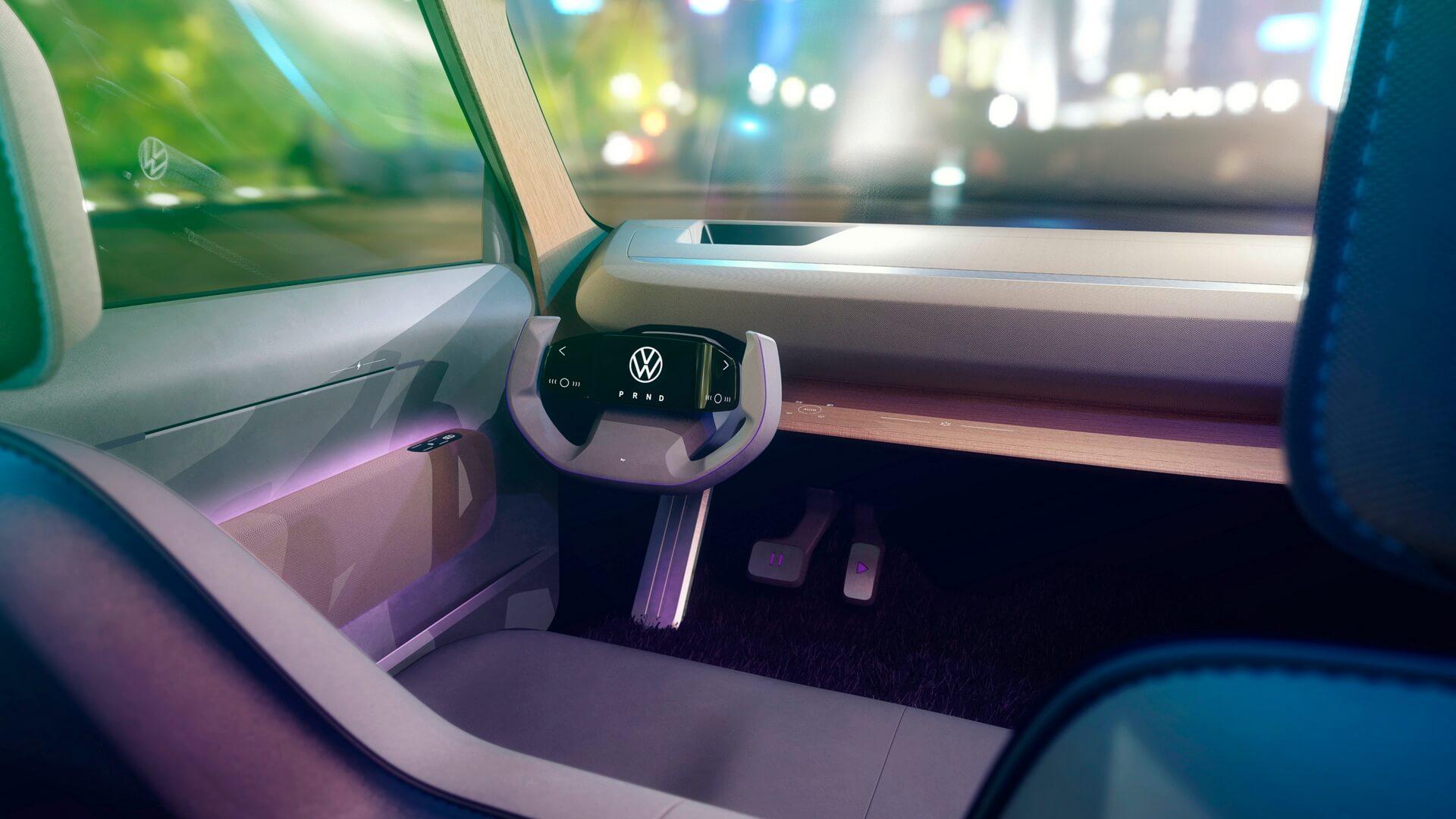 Экологичный салон Volkswagen ID. LIFE без традиционного информационно-развлекательного экрана
