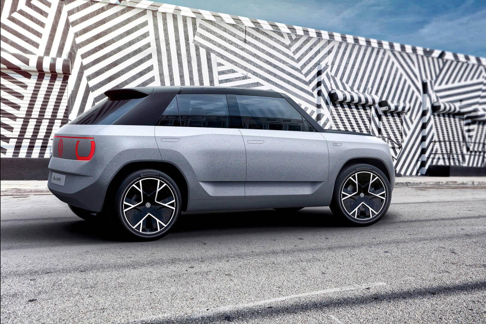Volkswagen представил будущий городской электромобиль за €20 000