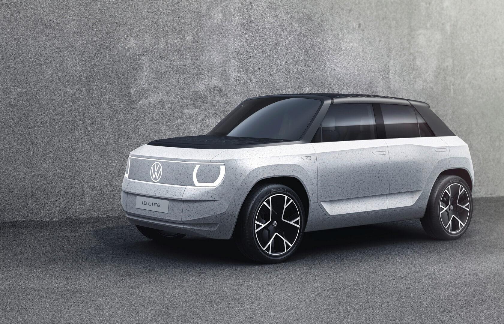 Volkswagen представил концепт электрокроссовера ID. LIFE за€20000
