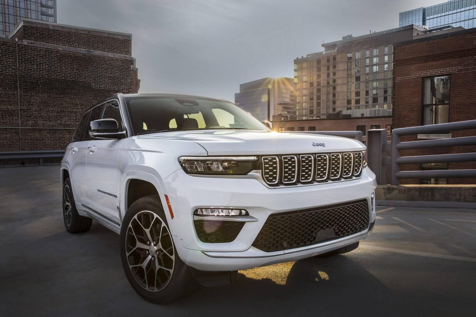 Плагин-гибрид Jeep Grand Cherokee 4xe