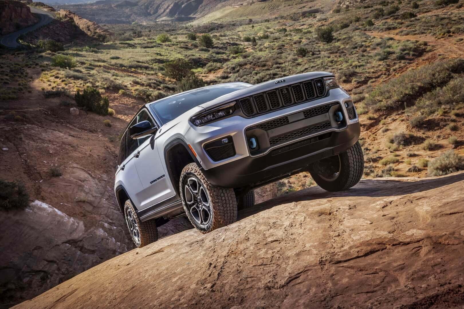Плагин-гибрид Jeep Grand Cherokee Trailhawk 4xe