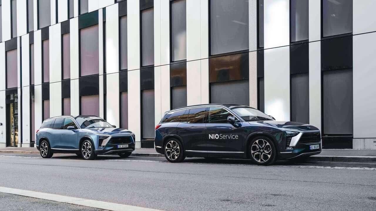 NIO официально запустила свой ES8 в Норвегии