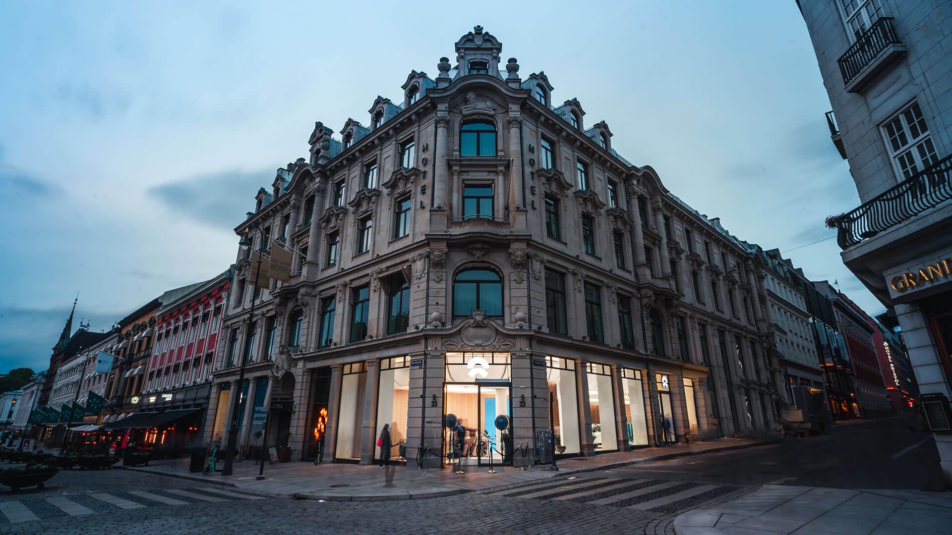 NIO House в торгово-культурном центре Осло