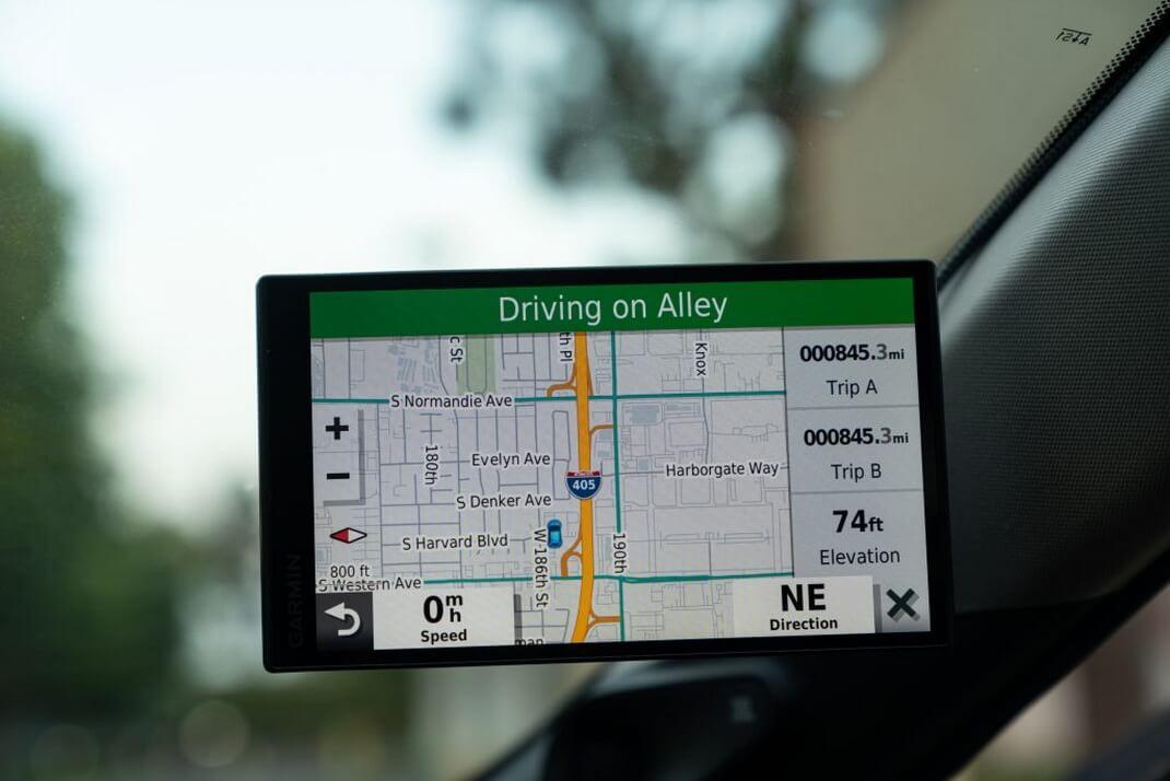Окончательный общий пробег Toyota Mirai, зарегистрированный GPS
