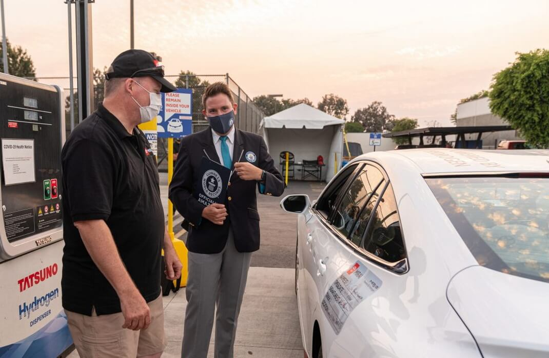 1360км наодной заправке: водородная Toyota Mirai установила рекорд Гиннеса